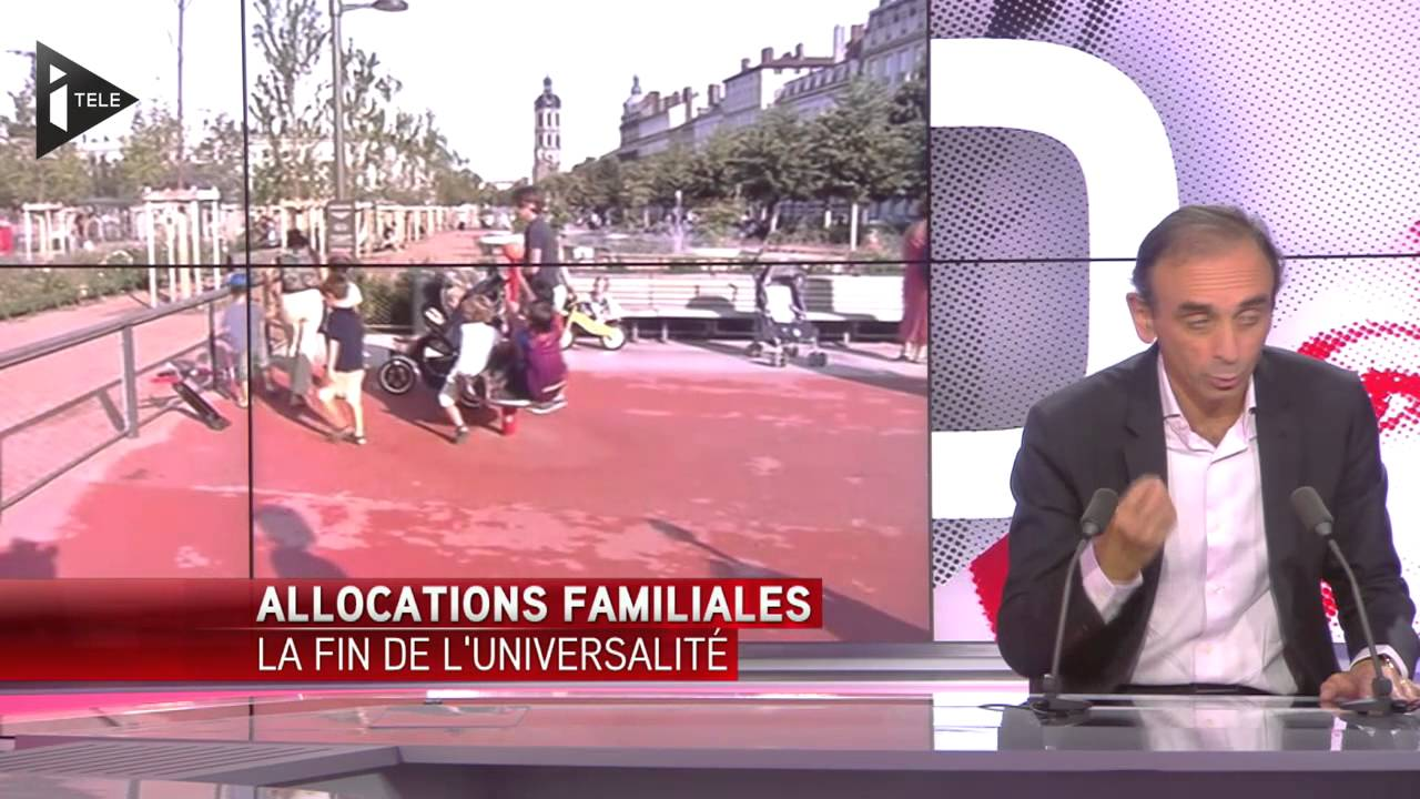 Allocs Familiales: La Gauche N'a «rien Compris»