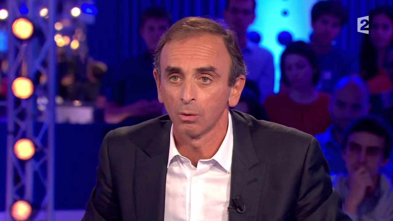Eric Zemmour Pour Son Livre «Le Suicide Français»