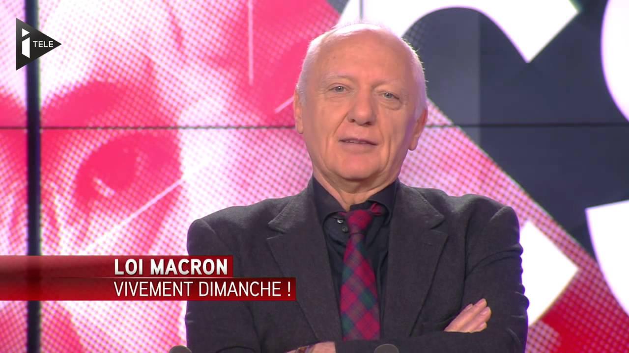 Loi Macron : Vivement Dimanche !