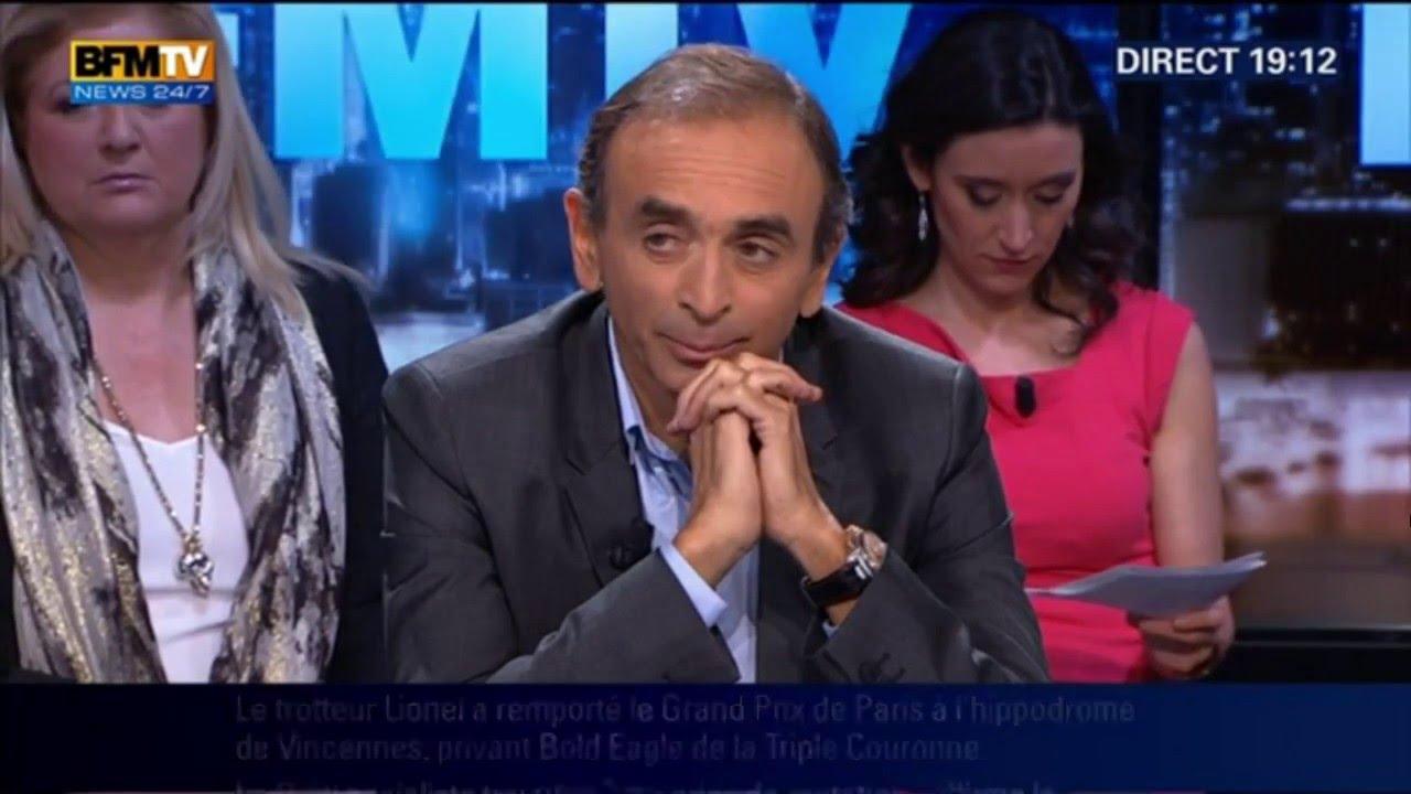 BFMTV – Eric Zemmour Face à Jean Christophe Cambadélis