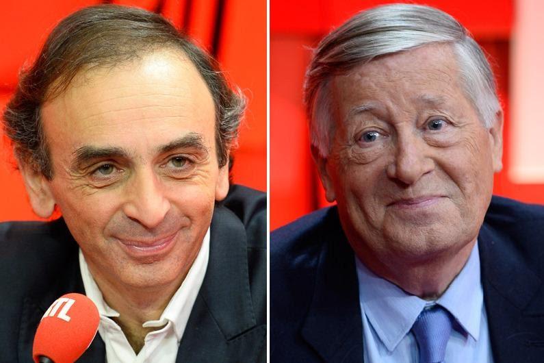 Alain Duhamel Et Éric Zemmour Débattent De La «trumpisation» Des Esprits
