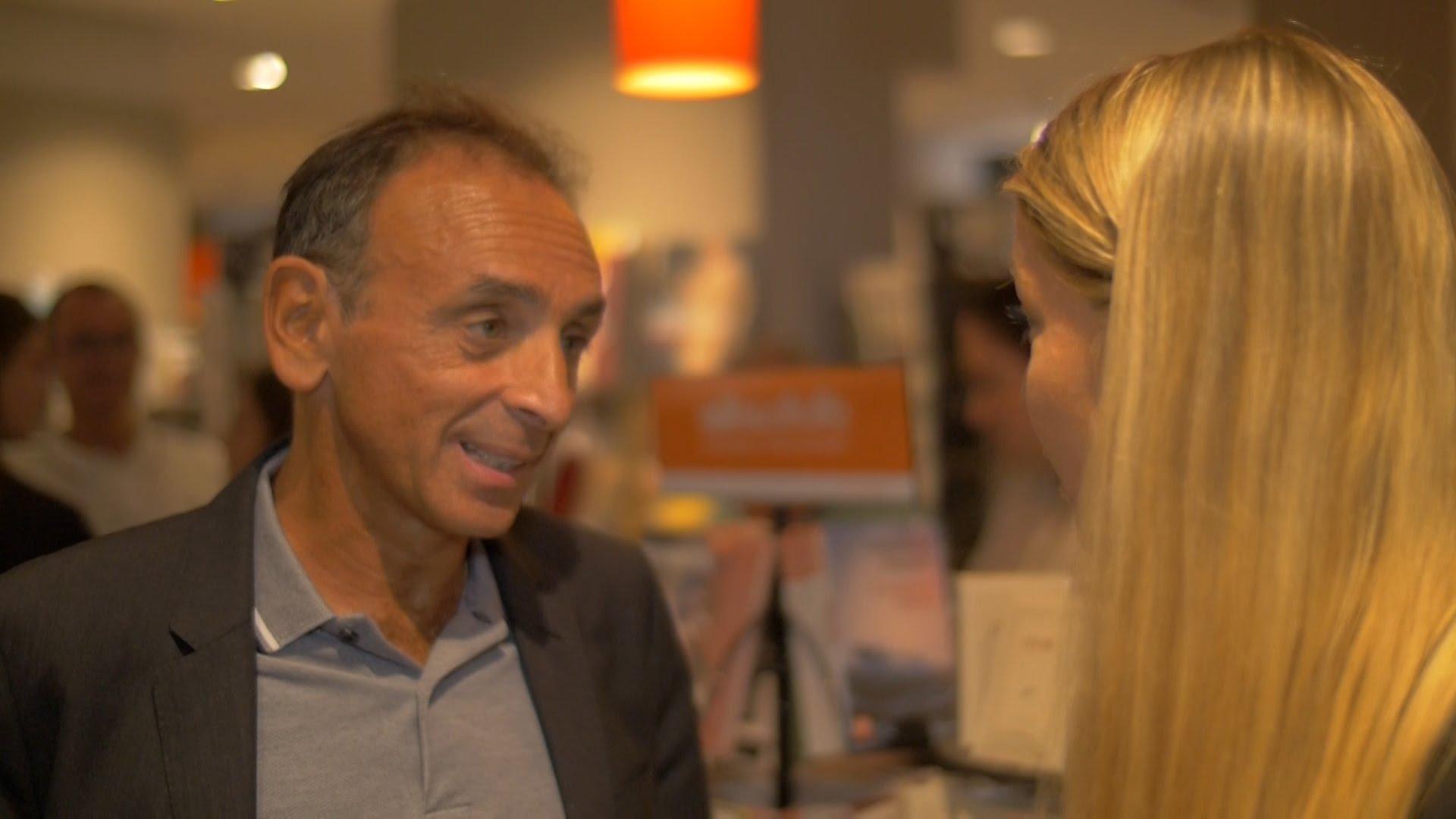 TV Libertés – Entretien Exclusif Avec Eric Zemmour