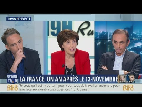 BFMTV – Eric Zemmour Face à Raphaël Glucksmann