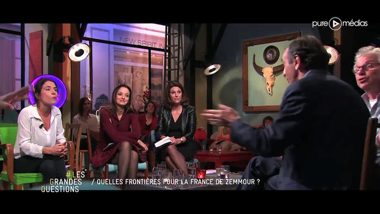 Eric Zemmour Face à Mazarine Pingeot