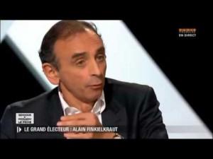 Eric Zemmour sur Paris Première