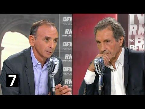 Eric Zemmour Invité De Jean Jacques Bourdin