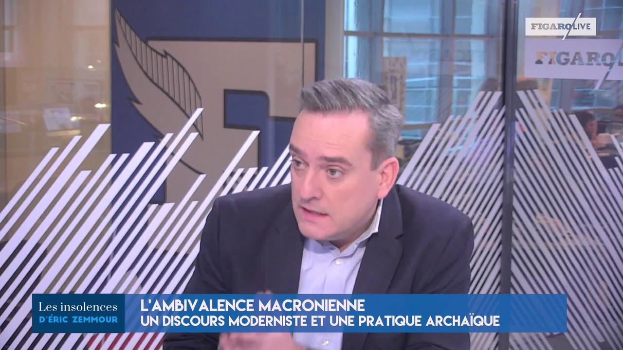 LES INSOLENCES DE ZEMMOUR : «En Marche Est Archaïque, Mais Dans Ma Bouche Ce N'est Pas Une Insulte»