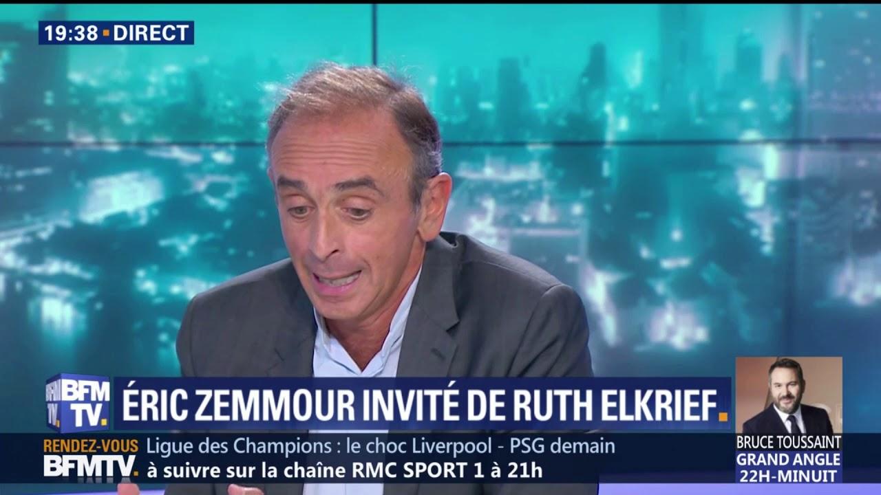 Eric Zemmour Chez Ruth Elkrief Sur BFMTV – 17 Septembre 2018