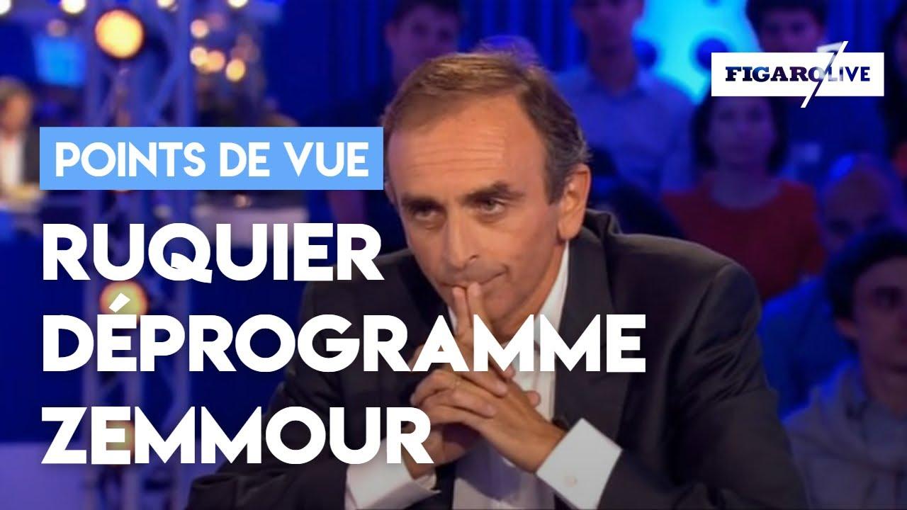 Zemmour Décommandé De ONPC Pour Ses Propos Polémiques