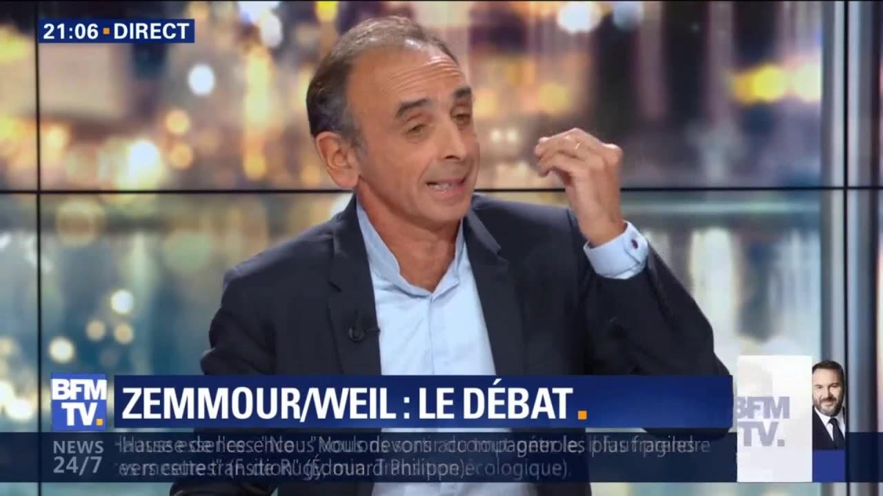 Éric Zemmour Face à Patrick Weil