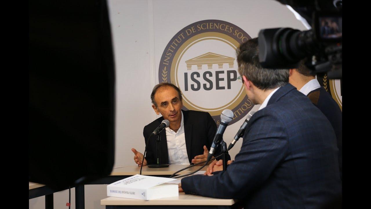 Eric Zemmour Interrogé Par Les étudiants De L'ISSEP
