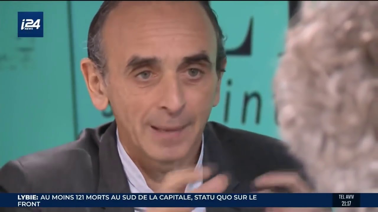 Interview D'Eric Zemmour Sur I24 – 14 Avril 2019