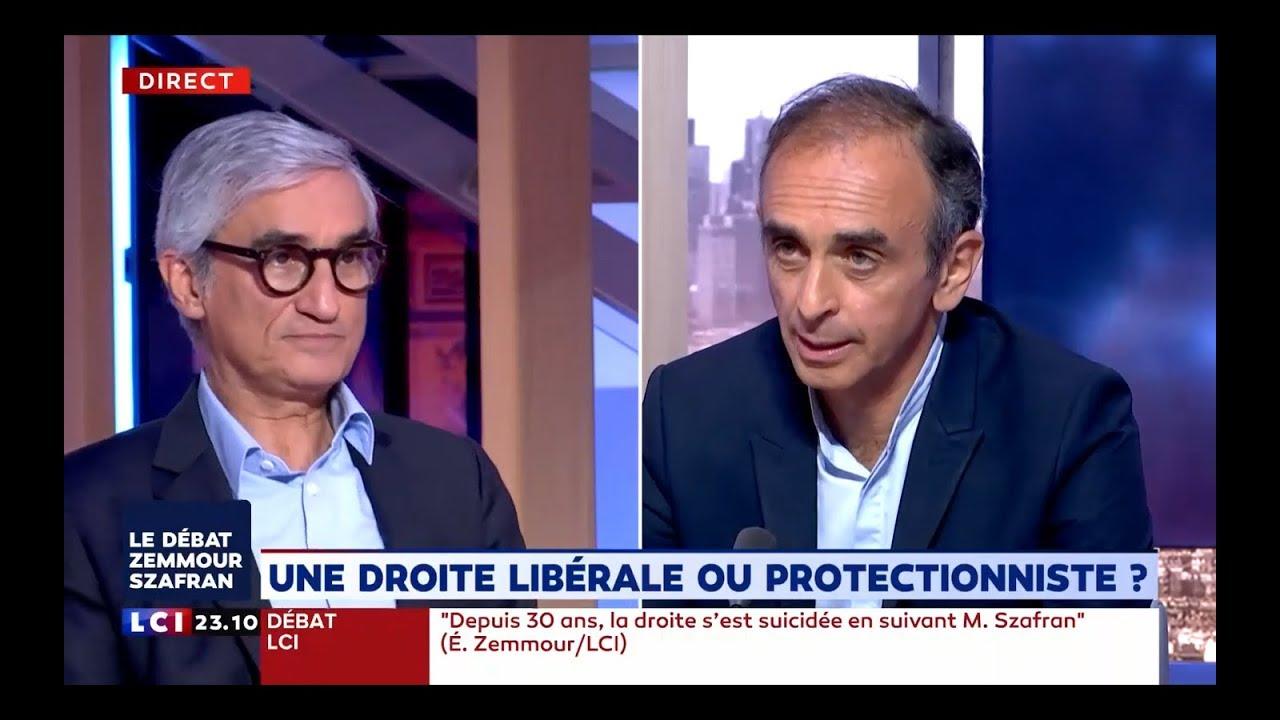 Le Débat Eric Zemmour/Maurice Szafran Sur LCI