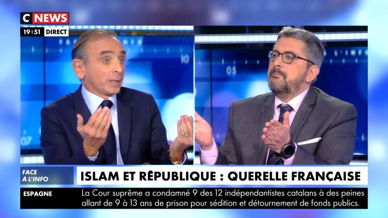Face à L'info – 14 Octobre 2019 – Face à Face Avec Mohamed Sifaoui Sur L'islam En France