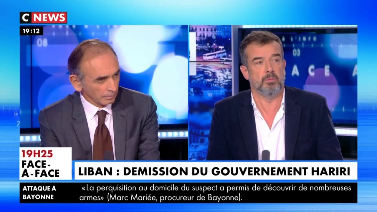 Face à L'info – 29 Octobre 2019