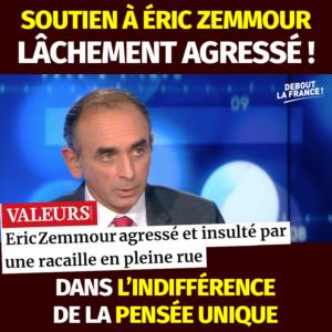 Valeurs Actuelles - Agression Eric Zemmour