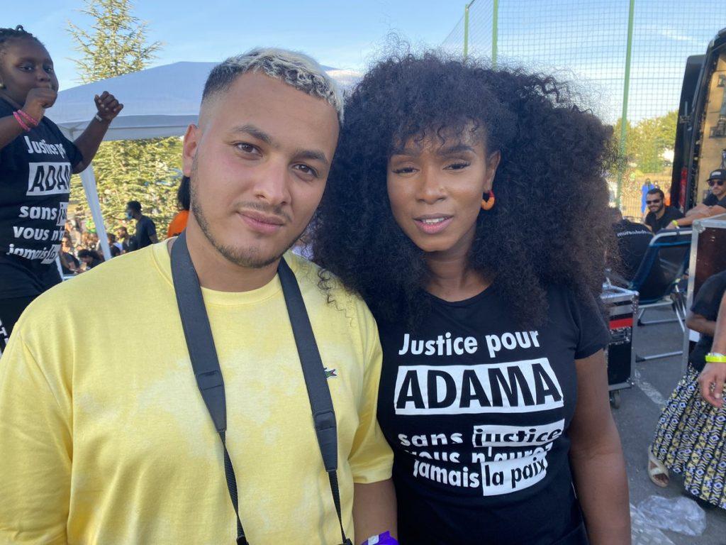 Taha Bouhafs & Assa Traoré