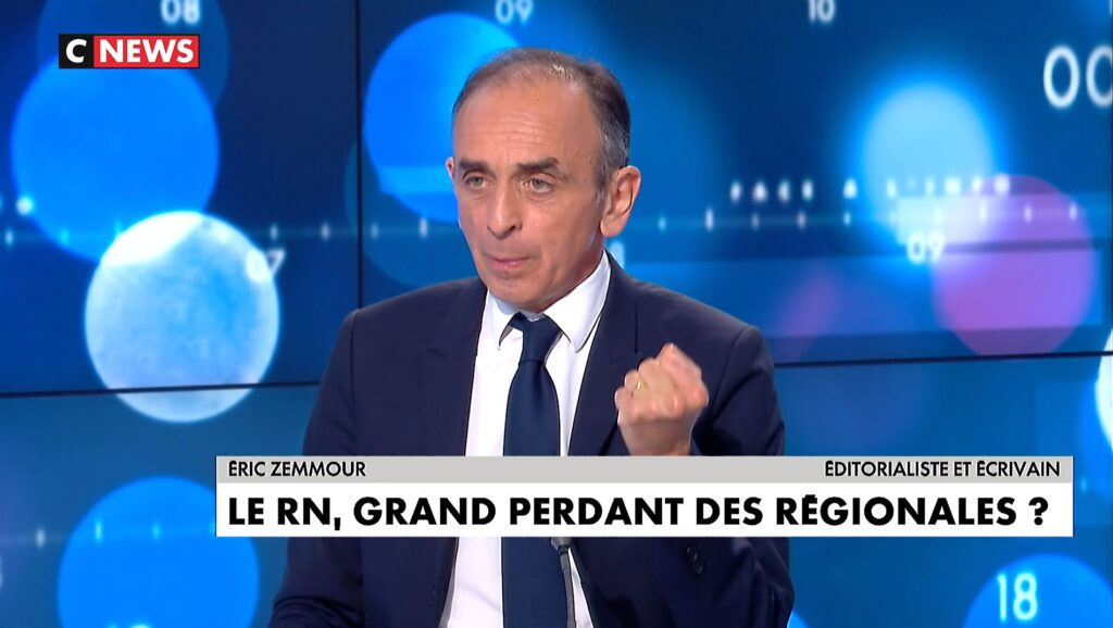 """Zemmour: """"Marine Le Pen a abandonné tout ce qui faisait la spécificité du RN, même sur l'immigration"""""""