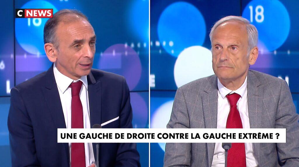 """Zemmour: """"Le Front républicain, c'est du théâtre !"""""""