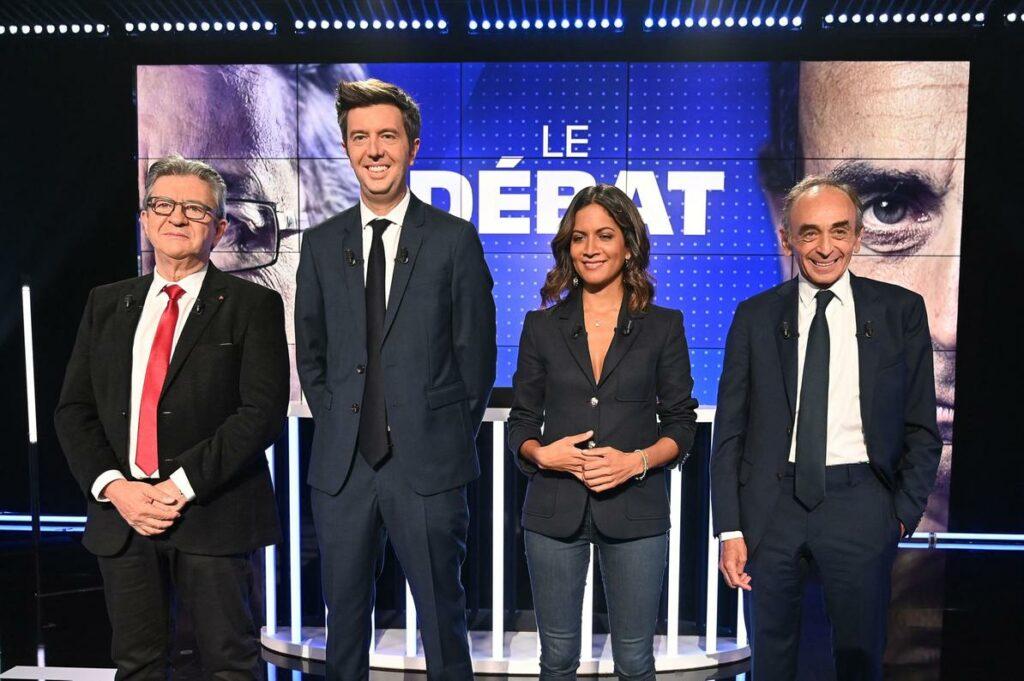 Zemmour - Mélenchon - Le débat sur BFMTV